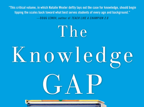 "Cover of ""The Knowledge Gap"" by Natalie Wexler"