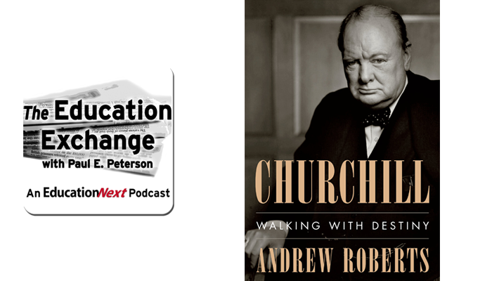 Link to purchase Churchill: Walking With Destiny