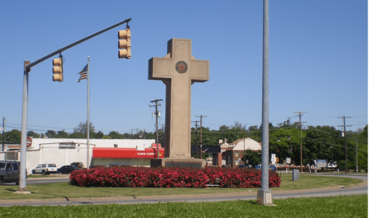 The Bladensburg World War I Memorial in Bladensburg, Maryland.