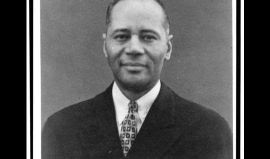Portrait of Charles Hamilton Houston