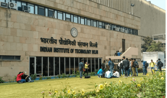 Indian Institute of Technology Delhi campus.