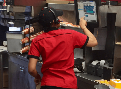 A worker with a certification in food services typically earns a median wage of only $20,180.