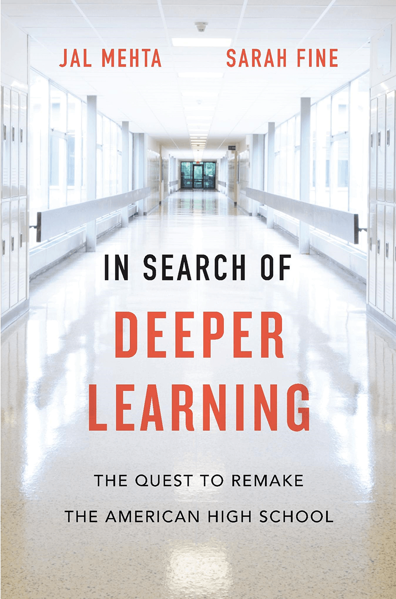 Book cover of In Search Of Deeper Learning