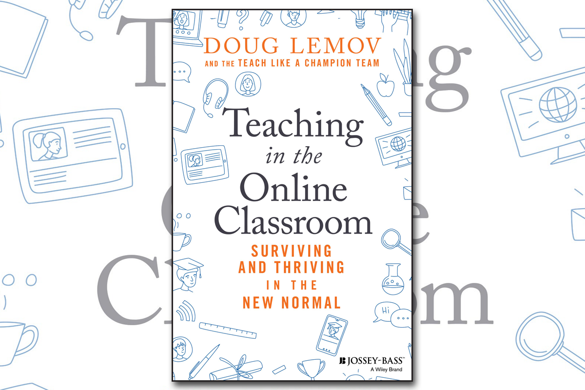 "Book cover for ""Teaching in the Online Classroom"""