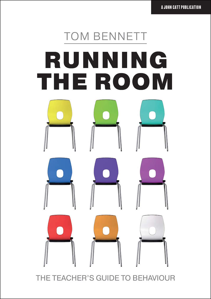 """Book cover of """"Running the Room: The Teacher's Guide to Behavior"""""""