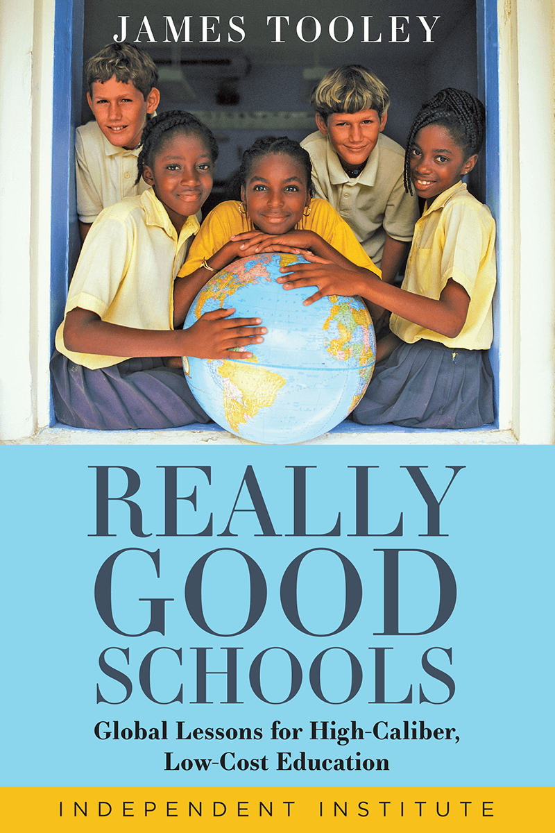 """Book cover of """"Really Good Schools"""" by James Tooley"""