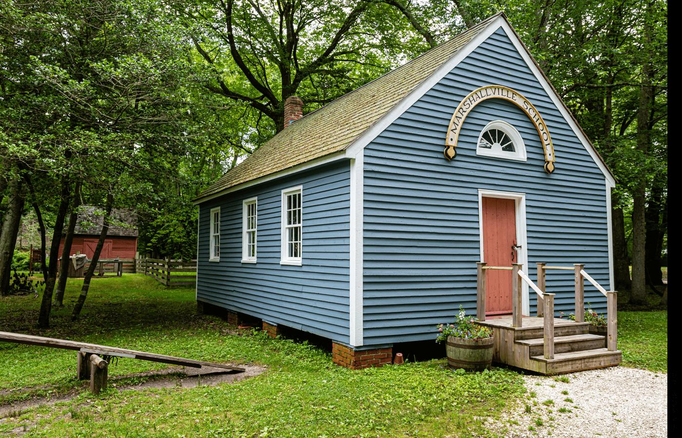 A rural school house