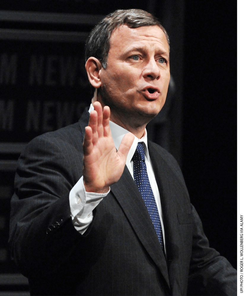 During oral argument, Chief Justice John Roberts focused on school officials' financial responsibility.
