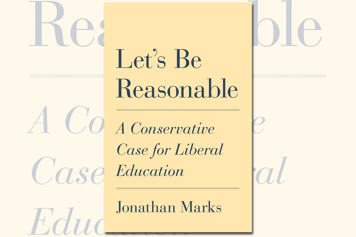 """Book cover of """"Let's Be Reasonable"""" by Jonathan Marks"""