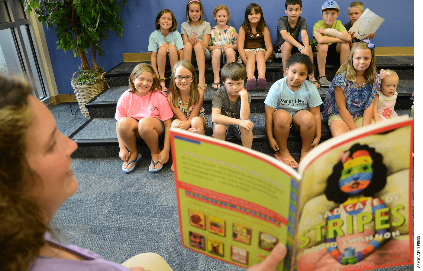 Summer reading camps, like the one shown here at Moss Hill Elementary School in Kinston, North Carolina, can mitigate learning loss.