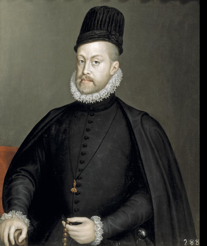 Painting of Philip II of Spain