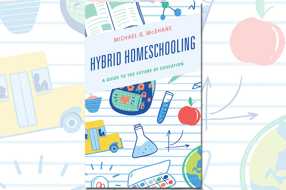 "Book cover of ""Hybrid Homeschooling"""
