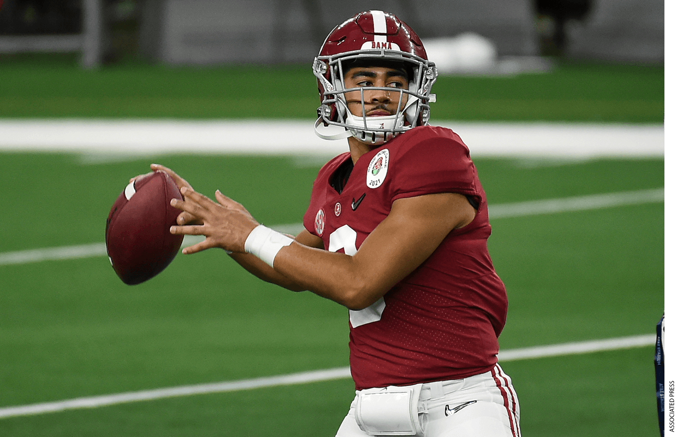 """Alabama's sophomore quarterback Bryce Young has reportedly signed more than $800,000 in NIL deals—sums that his coach, Nick Saban, called """"ungodly."""""""
