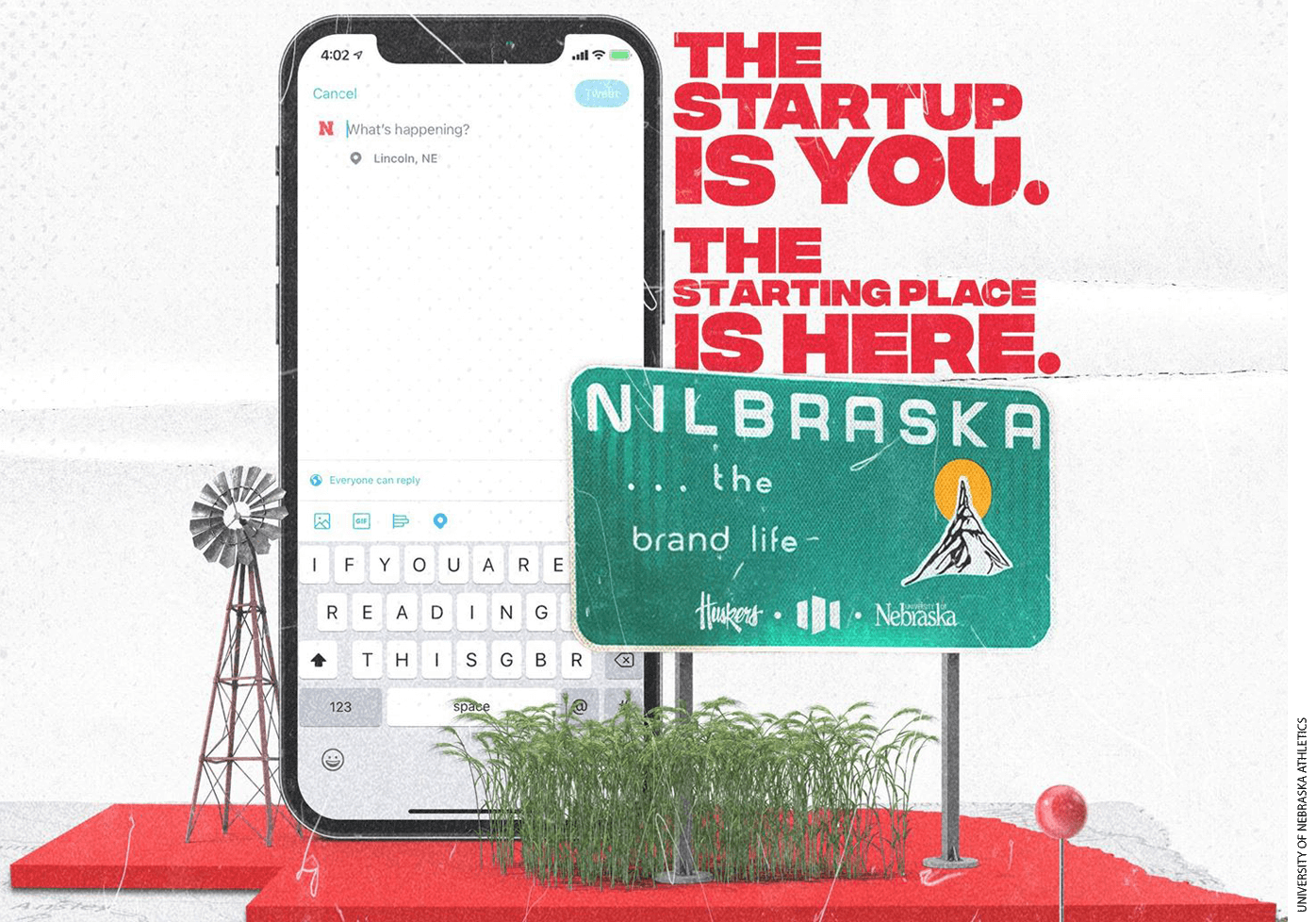 """Nebraska Athletics, which launched the #NILbraska program on its flagship campus in Lincoln in June, stated its goal to create """"a core curriculum that will benefit not just student-athletes, but all students on campus who may be interested in leveraging their personal brands."""""""