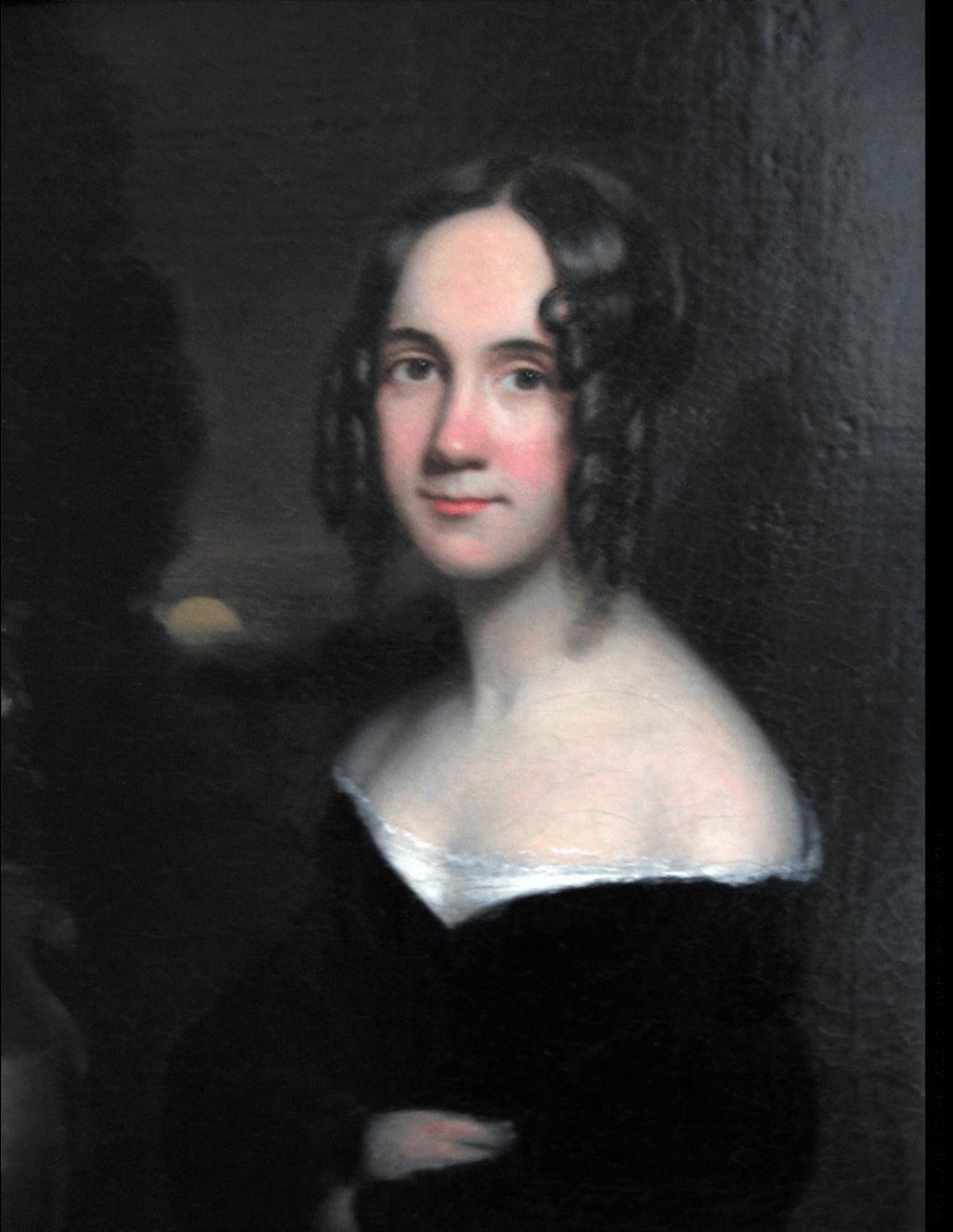 Painting of Sarah Josepha Hale