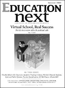 EdNext Summer 2009 Cover
