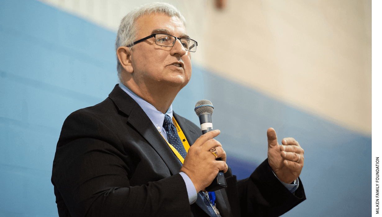 Montgomery County Schools Superintendent Jack Smith, seen here in 2018, has expanded the district's offerings of Advanced Placement and International Baccalaureate classes.
