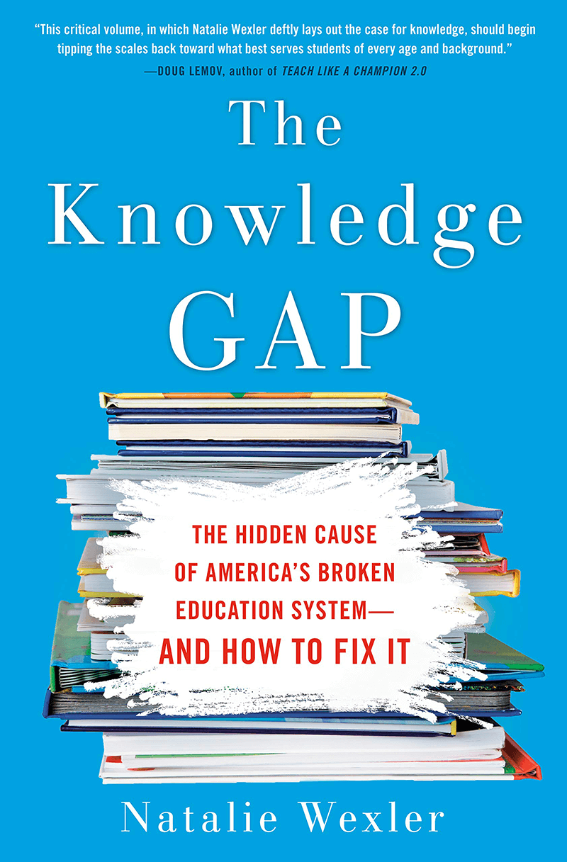 """Cover of """"The Knowledge Gap"""" by Natalie Wexler"""