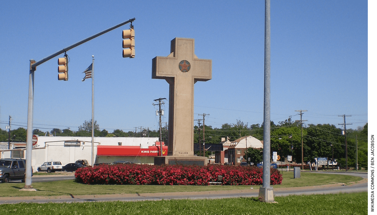 The Bladensburg World War I Memorial in Bladensburg, Maryland.