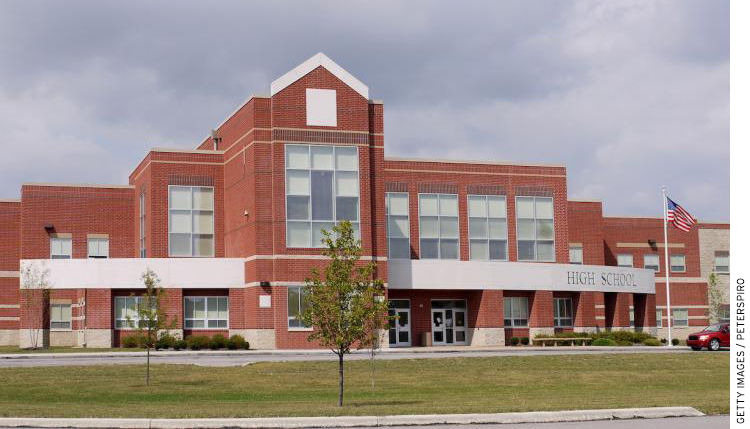Photo of a High School