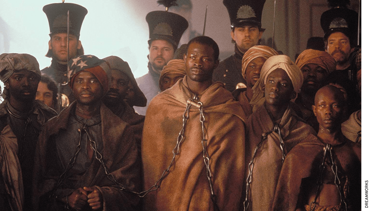 The Amistad law was named for the slave ship that was the subject of a 1997 Steven Spielberg film.