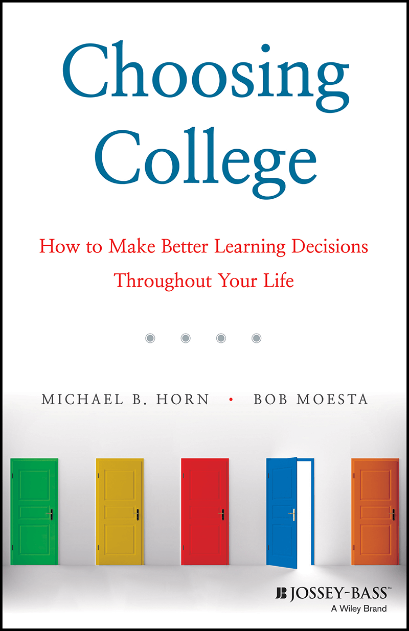 "Cover of ""Choosing College"" book"