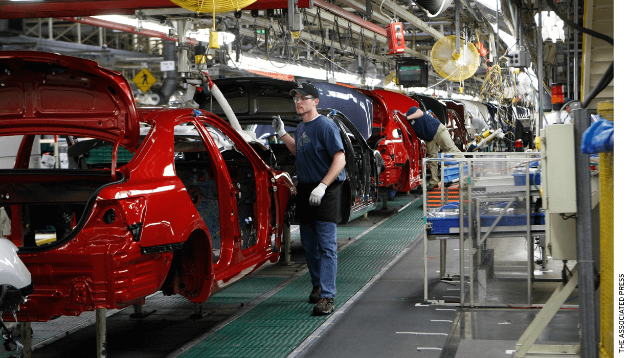 Inside a Toyota factory — one model for how education might work better.