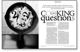 Cooking the Questions