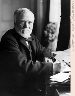 andrew carnegie / getty images