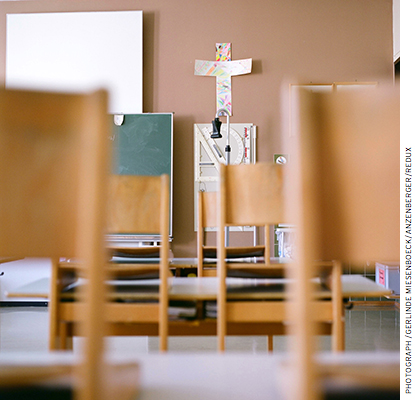 Roughly 50 percent of all private-school students today attend Catholic schools. We find a good deal of homogeneity in perceptions within the private sector.