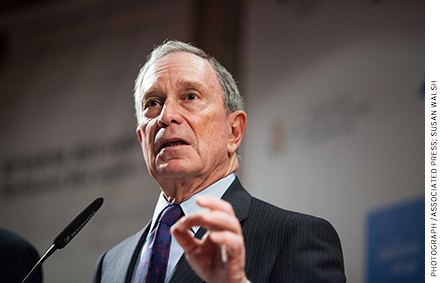 Under Bloomberg, schools were assigned A–F letter grades, a system that helped motivate improvement.