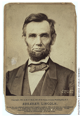 At the simplest level, an open resource might be a picture of Abraham Lincoln that a teacher could use in the classroom for free without violating copyright.