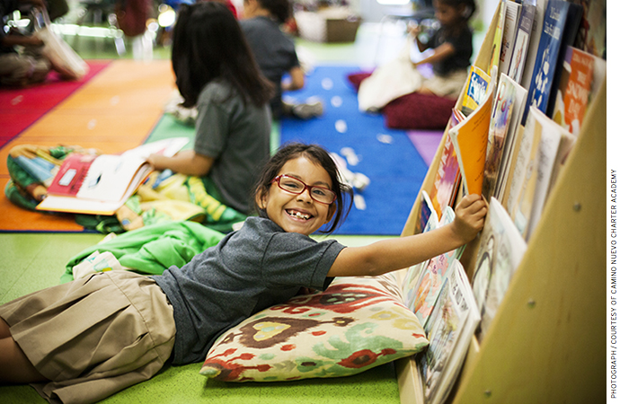 Camino Nuevo offers a bilingual English-Spanish program and a rich curriculum.