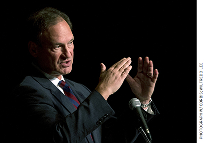 "Justice Alito wrote, ""except perhaps in the rarest of circumstances, no person in this country may be compelled to subsidize speech by a third party that he or she does not wish to support."""