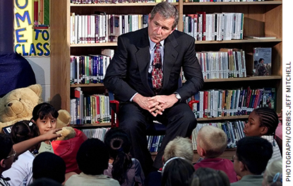 The Texas school accountability system implemented under then Governor George W. Bush served as a blueprint for the federal legislation he signed as president nearly a decade later.