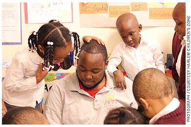 Preschoolers at the Harlem Children's Zone