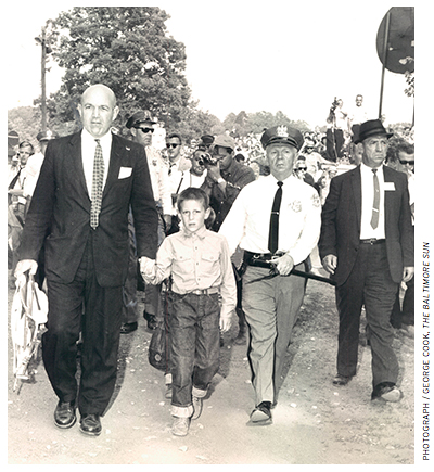 In July 1963, James Coleman and his family participated in a demonstration at a whites-only amusement park outside of Baltimore, leading to their arrest.