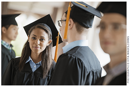 "in the ""high school and beyond"" study, coleman's team reported that students in catholic high schools both learned more and had higher graduation rates than their public- school peers."