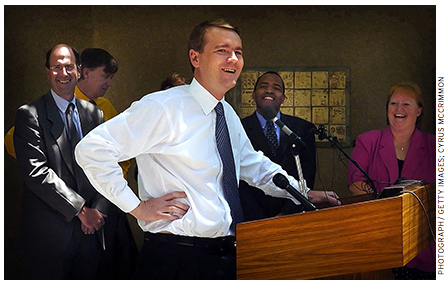 Michael Bennet, selected as superintendent of the Denver Public Schools in 2005, had previously turned around failing companies for a local investment firm.
