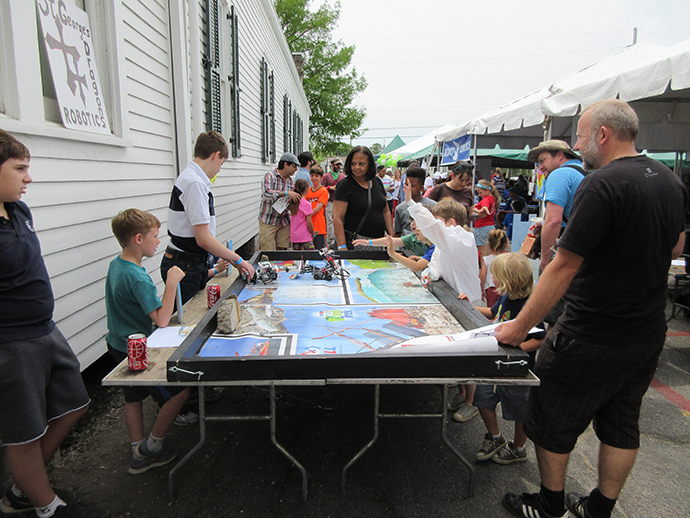 New Orleans Mini Maker Faire 2016 at Bricolage Academy. Photo by Infrogmation/Wikipedia