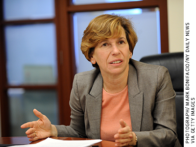 In April 2013, AFT president Randi Weingarten floated the idea of a moratorium on high-stakes uses of the results from new assessments.