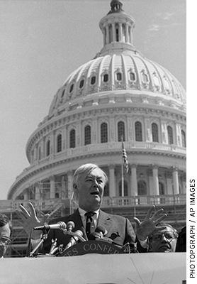 Elected to the U.S. Senate in 1976, Moynihan secured a seat on the Senate Finance Committee during his first term and served as its chairman from 1993 to 1995.