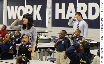 Some KIPP schools are incorporating mindfulness training and even yoga to help their students build self-control so they can make better choices toward their long-term success.