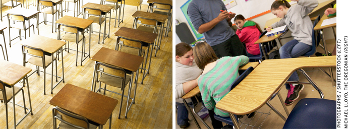 Substantial gains in instructional time may be made by simply improving school attendance.