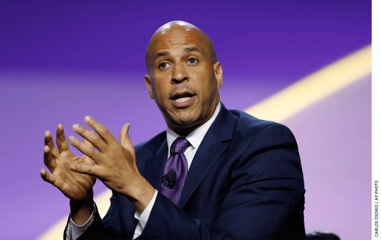 Democratic presidential candidate Cory Booker, who welcomed charter schools as mayor of Newark, N.J., has been increasingly critical.