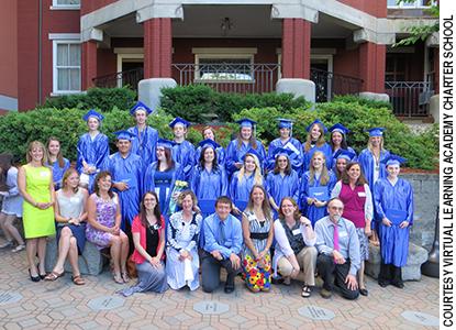 VLACS graduating class of 2014