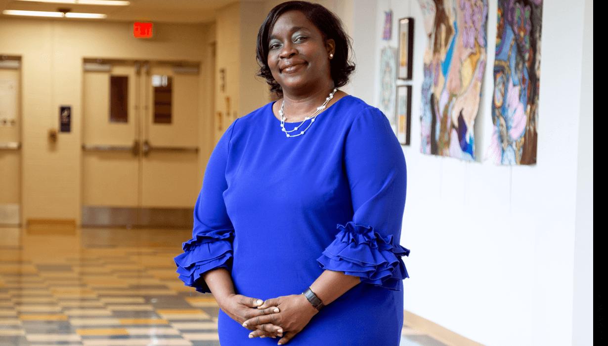 Principal Belicia Reaves, Capital City Public Charter School, Washington, D.C.